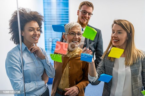 istock Improving business with a well laid out plan 1088181708