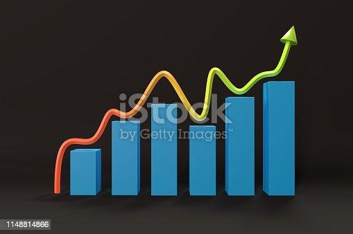 istock Improving Graph 1148814866