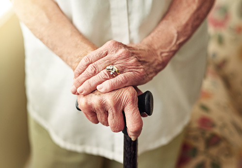 Improving mobility with a walking stick