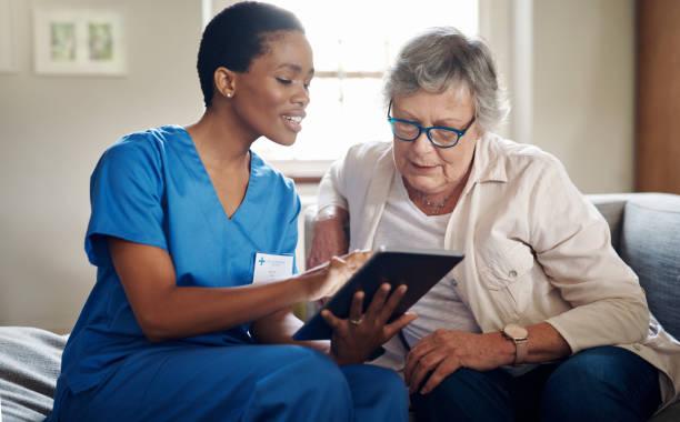 Verbesserung der Gesundheitsqualität durch digitale Technologie – Foto