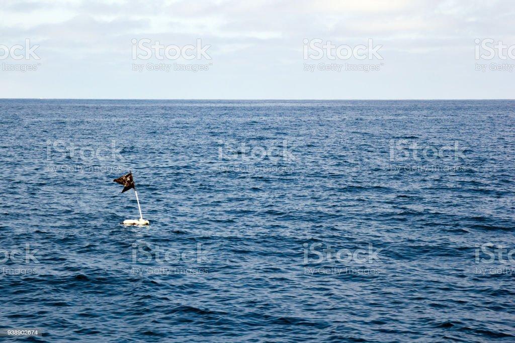 Improvised Signal Buoy stock photo