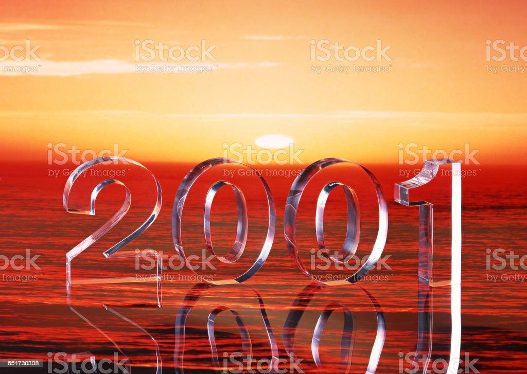 In 2001, image stock photo