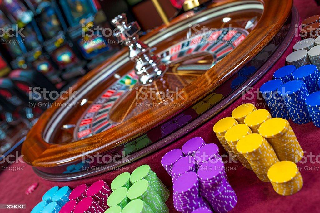 In a Casino stock photo