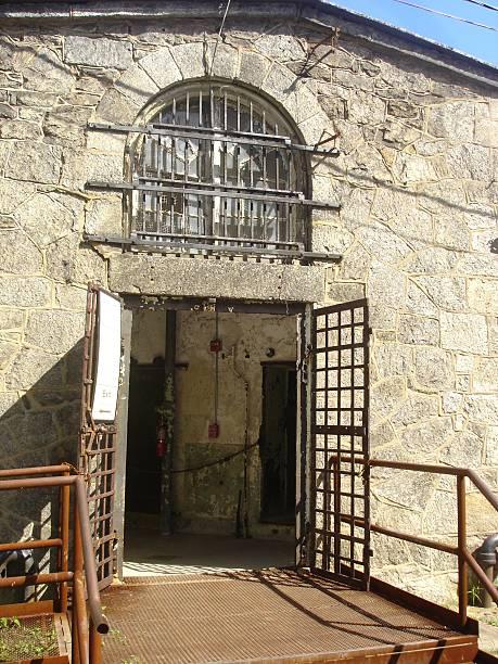 En una cárcel - foto de stock
