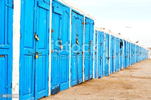 istock in africa morocco  old harbor wood   door and 467272358