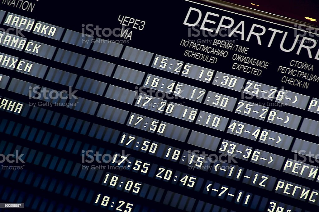 in airport royalty-free stock photo