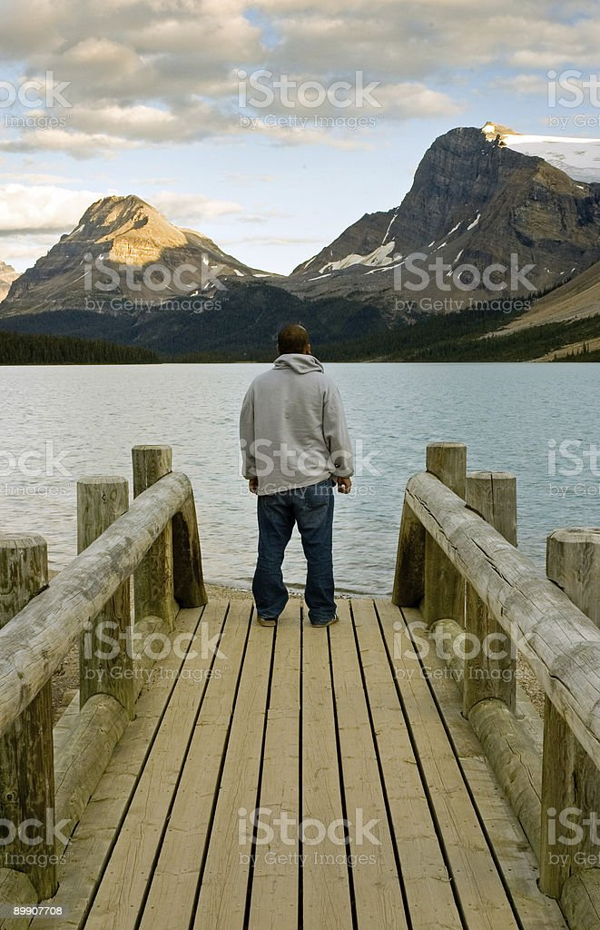In awe of nature royalty-free stock photo