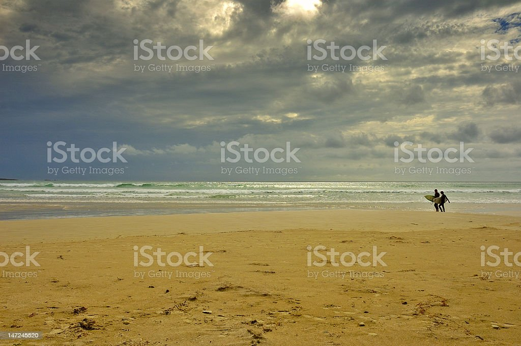 In before the storm royalty-free stock photo