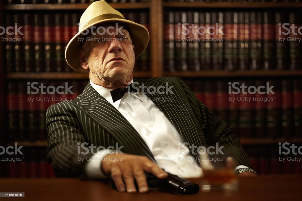In charge of his domain royalty-free stock photo