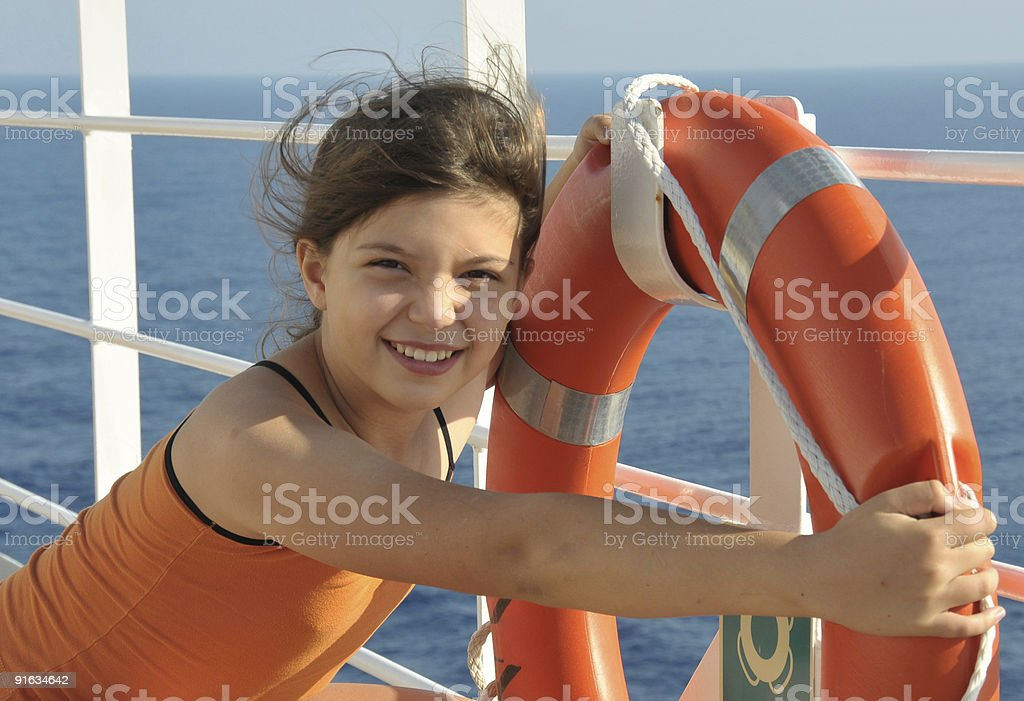 In cruise royalty-free stock photo