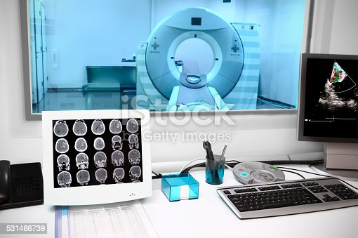 istock in CT laboratory 531466739