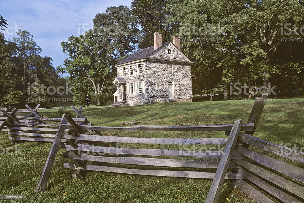 General Washington's Headquarters stock photo
