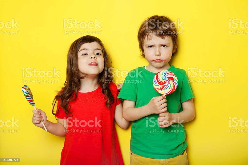 In different moods stock photo
