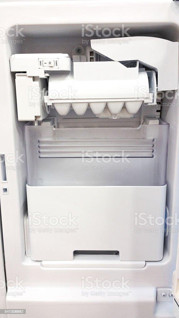 In Door Ice Maker stock photo