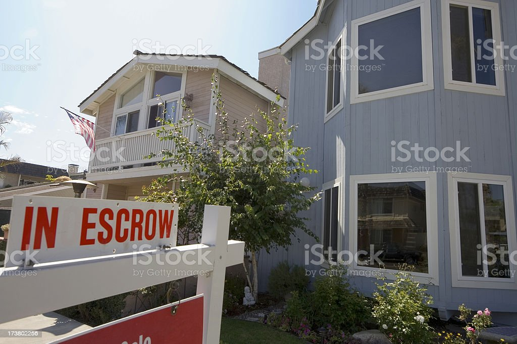 In Escrow royalty-free stock photo
