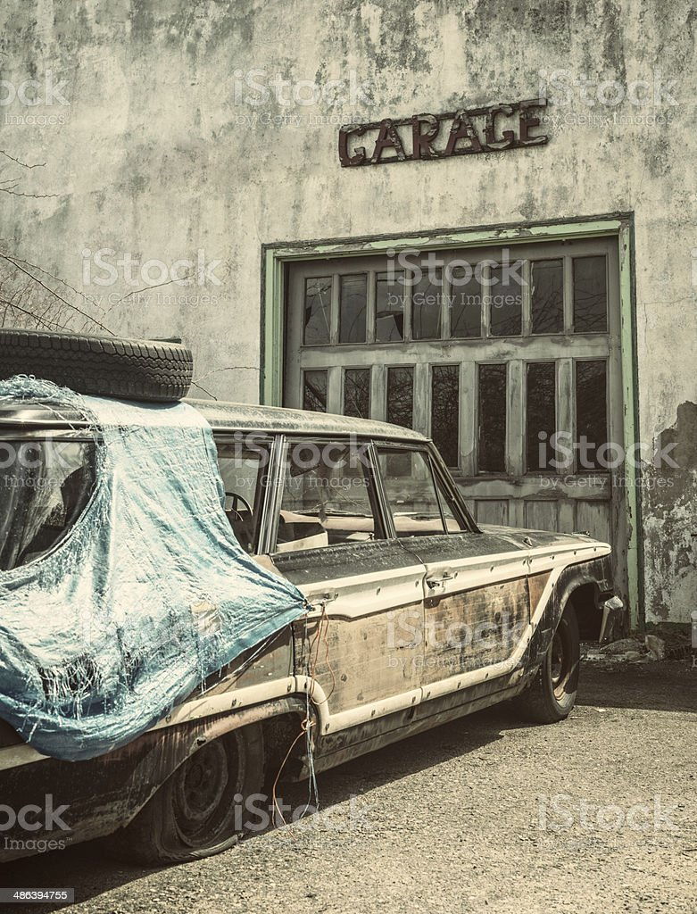 In For Repairs royalty-free stock photo