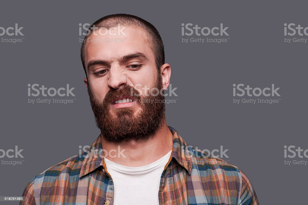 In friends with irony. stock photo