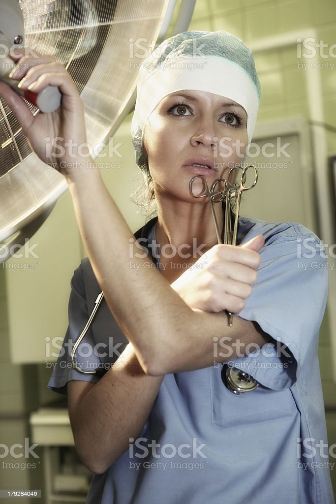 In hospital royalty-free stock photo