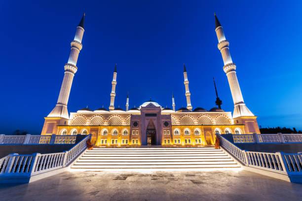 CAMLıCA CAMII, Istanbul, Türkiye. stok fotoğrafı