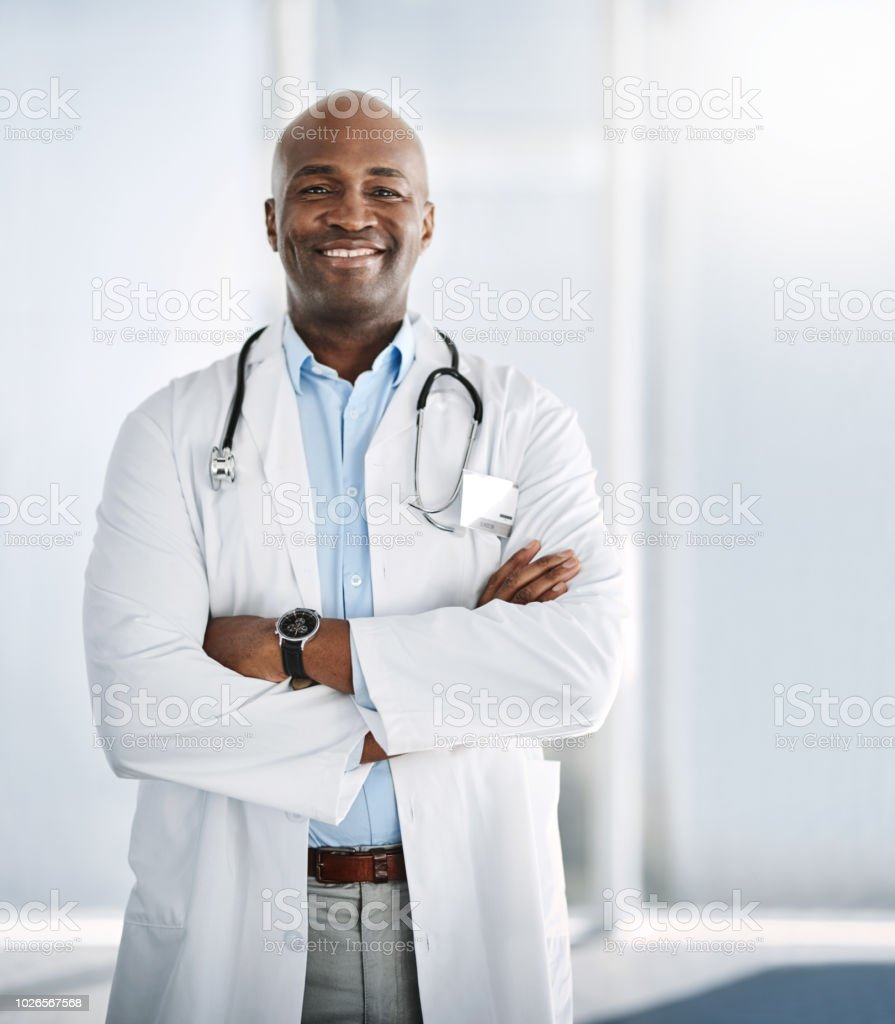 In it for the good of your health stock photo