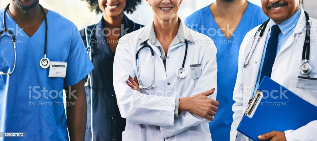 In it together for the good of you health stock photo