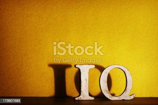 istock IQ in letters 173907593