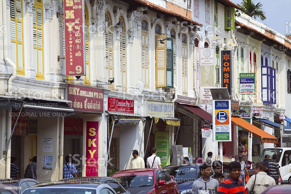In Little India royalty-free stock photo