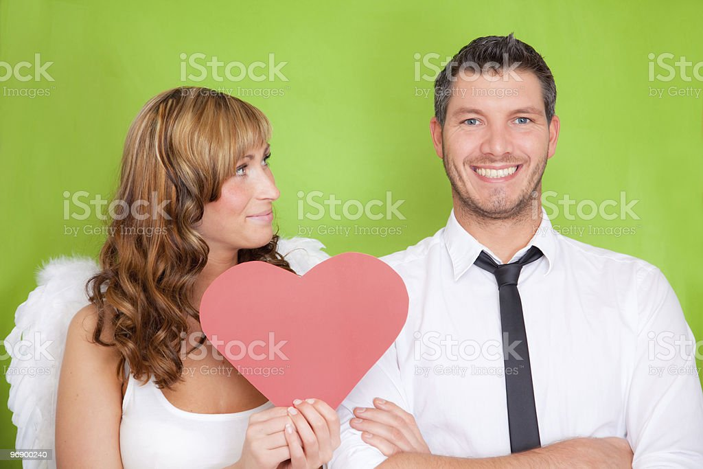 in love amor symbol couple royalty-free stock photo