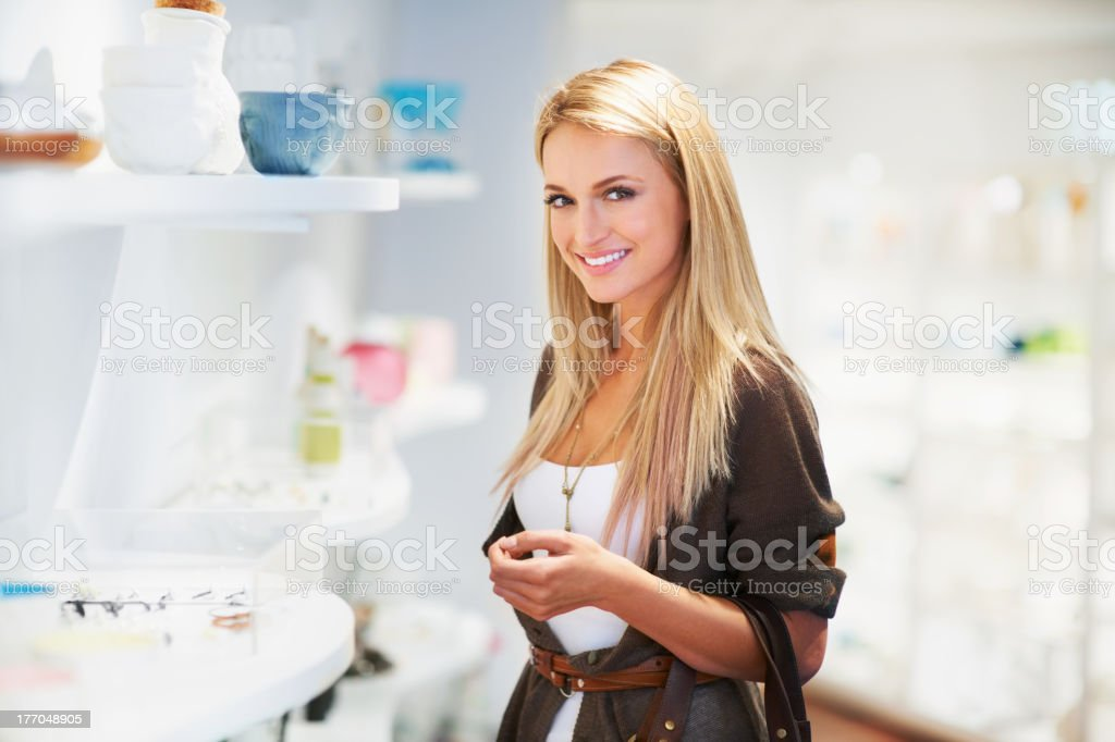 In love with shopping royalty-free stock photo