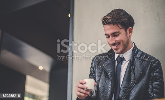 istock In love with the coffee 870588216