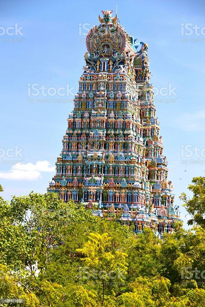 In Madurai, India stock photo
