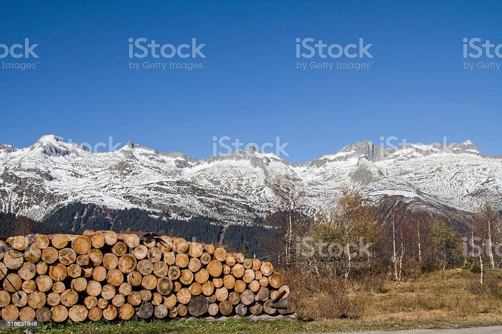 in Medel Valley stock photo