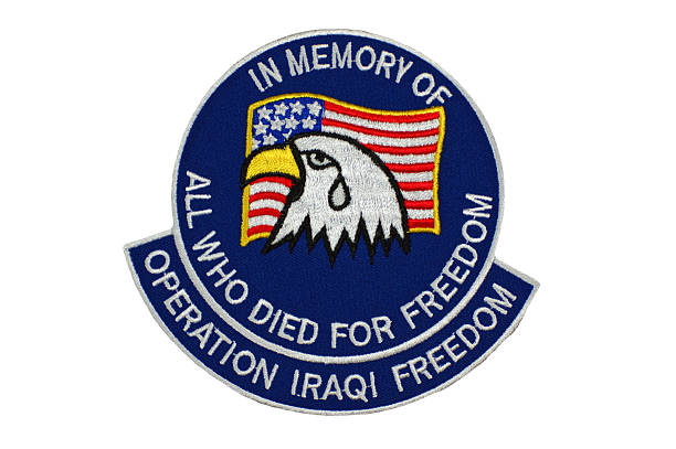 In Memory of Operation Iraqi Freedom stock photo