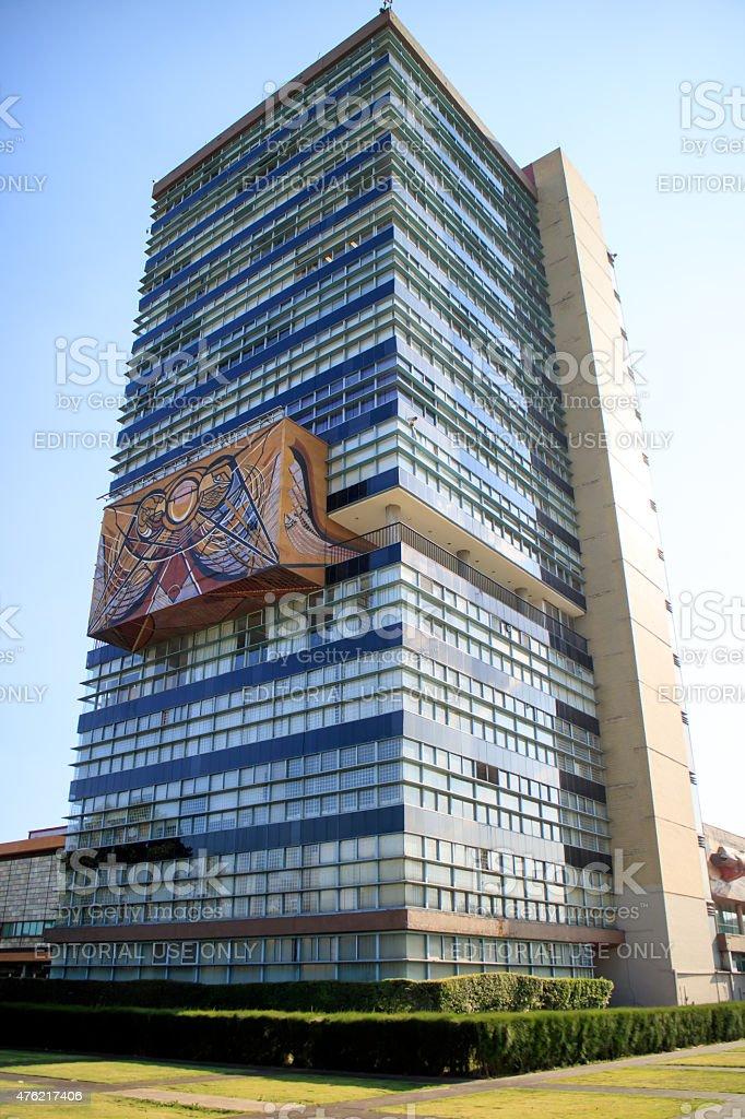 UNAM in Mexico stock photo