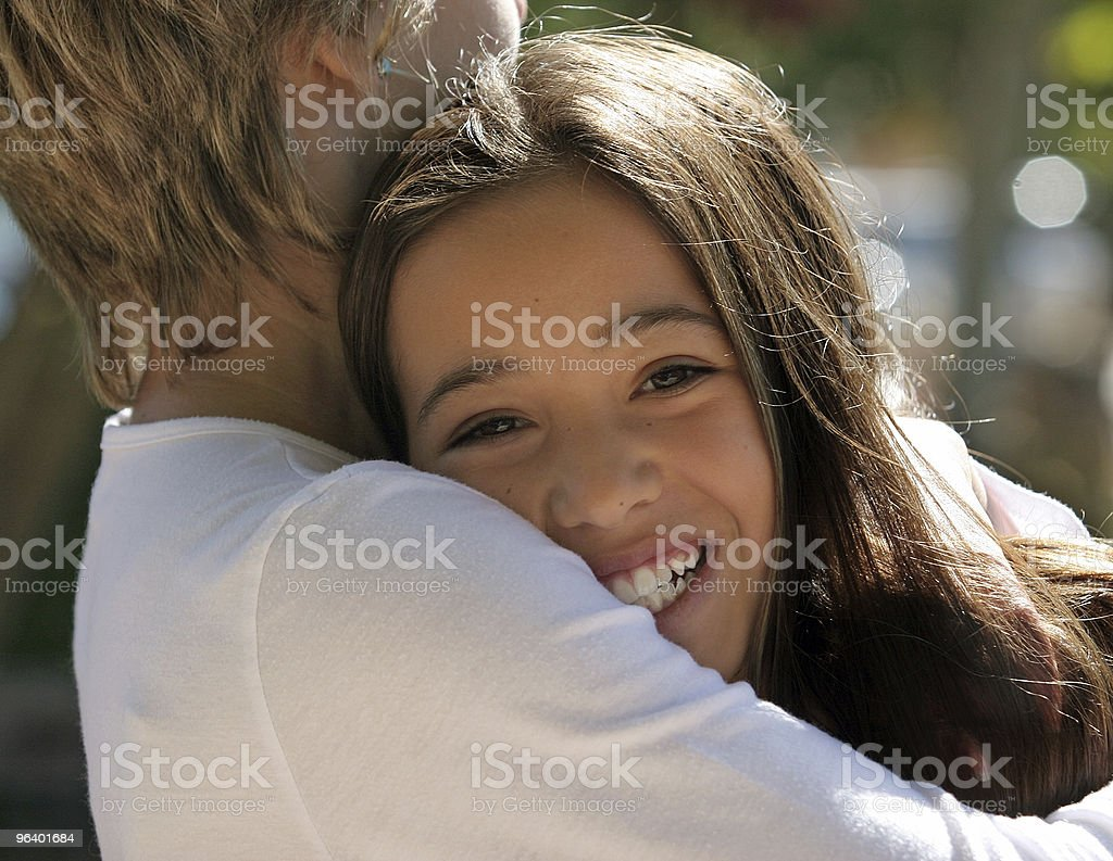 In mother's hands - Royalty-free Beautiful People Stock Photo