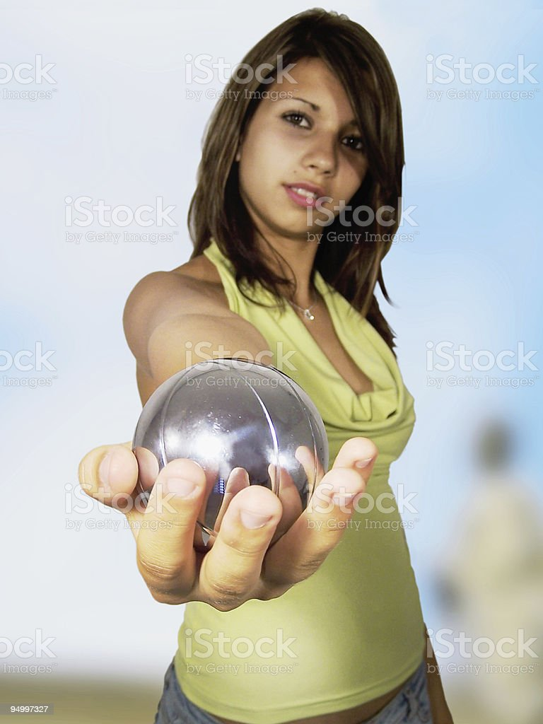 in my hand royalty-free stock photo