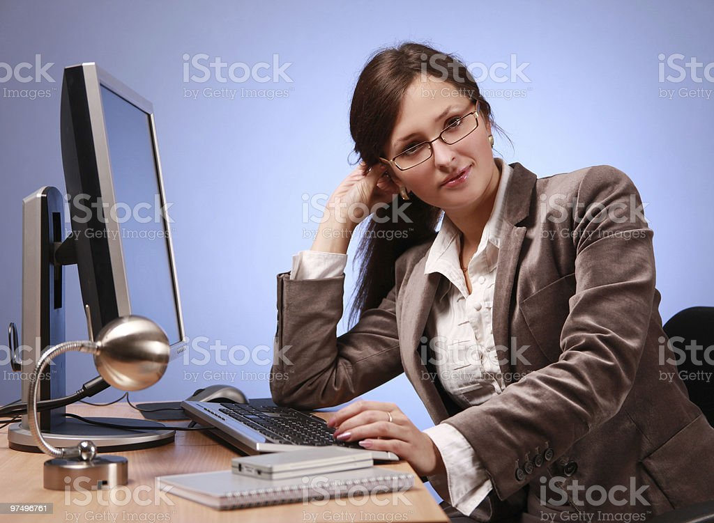 in office royalty-free stock photo