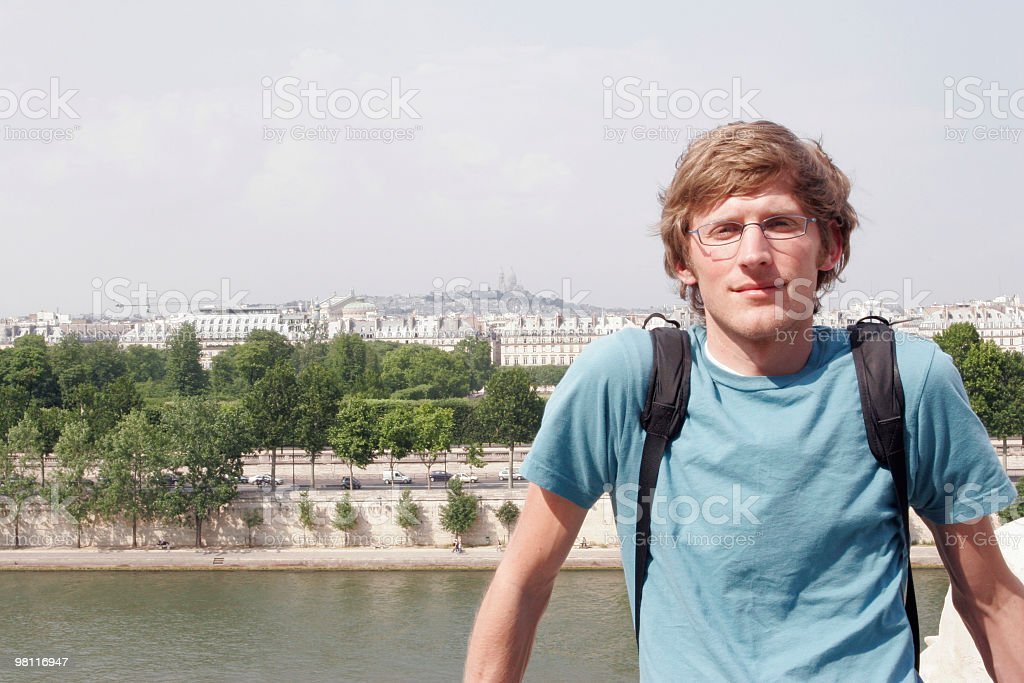 In Paris royalty-free stock photo