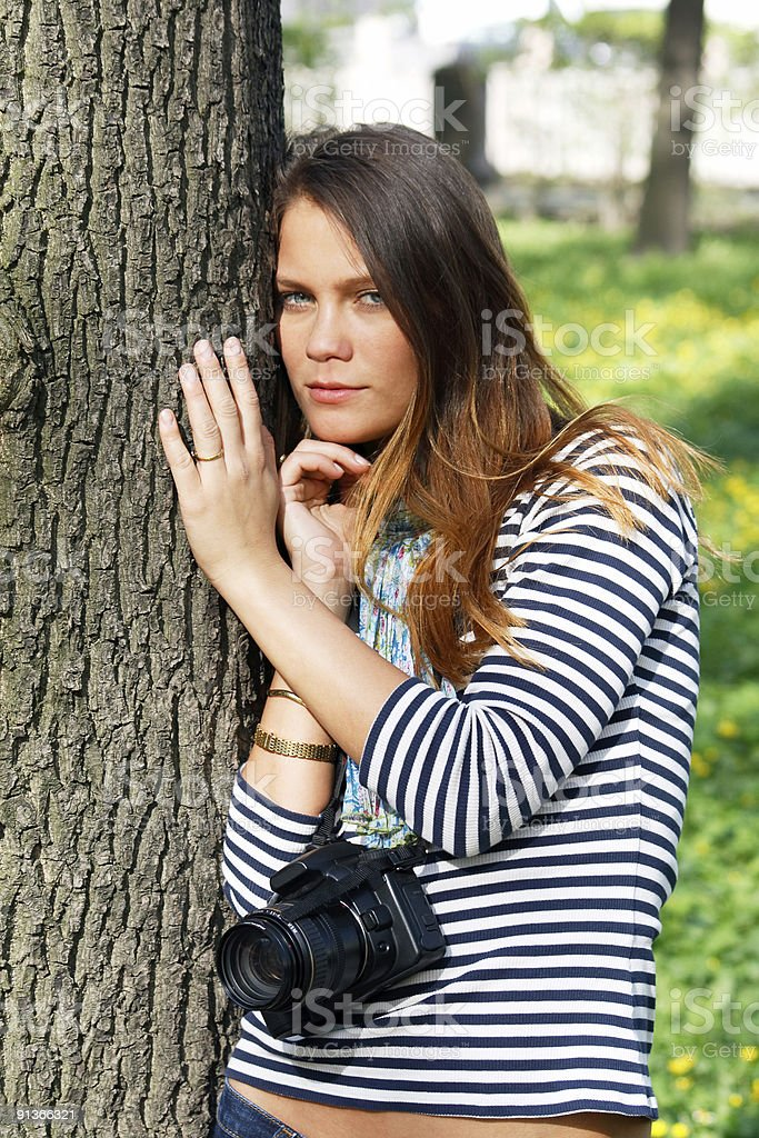 In park royalty-free stock photo