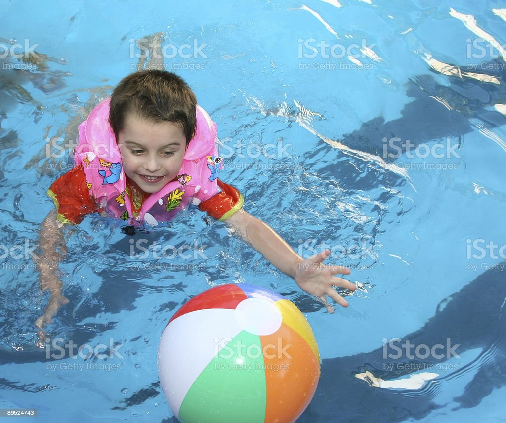 In pool royalty-free stock photo