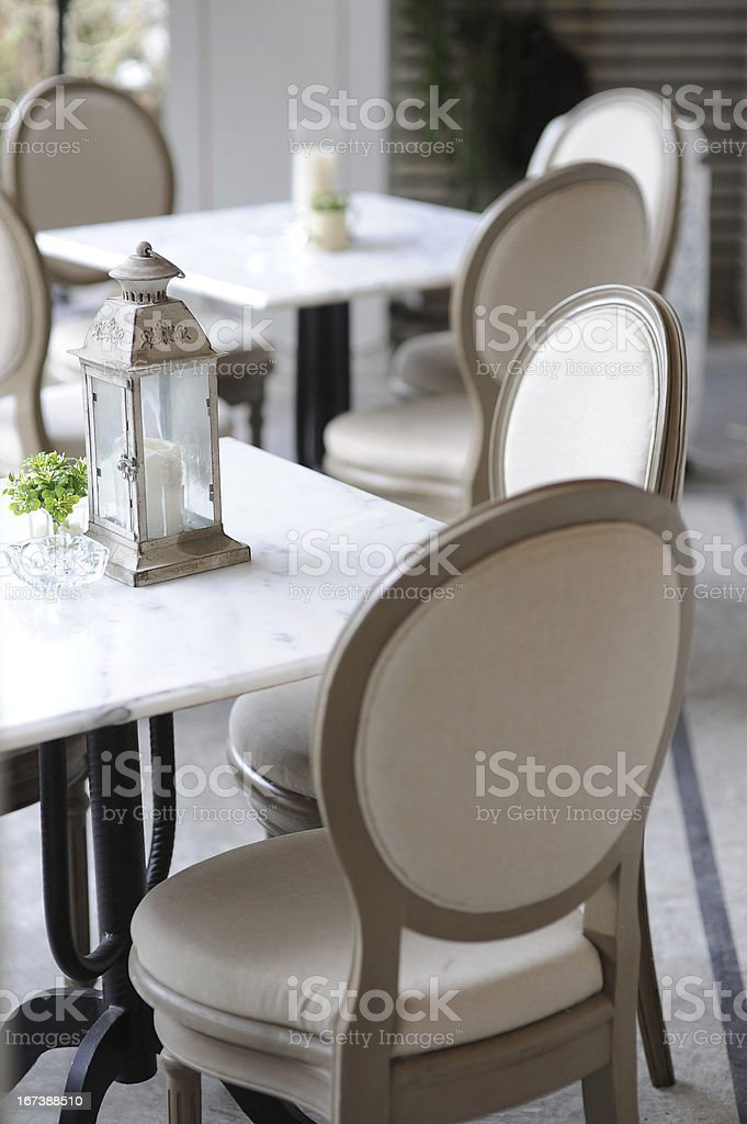 in restaurant royalty-free stock photo