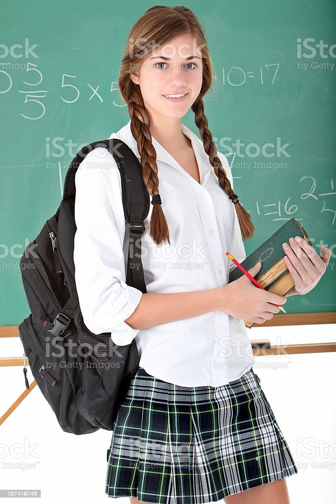 In school. royalty-free stock photo