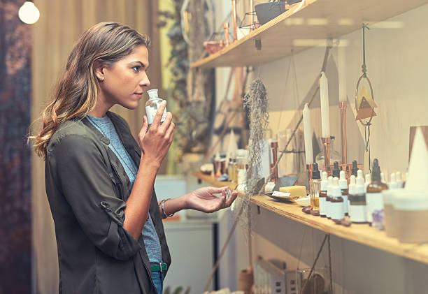 in search of the perfect scent - scented stock photos and pictures