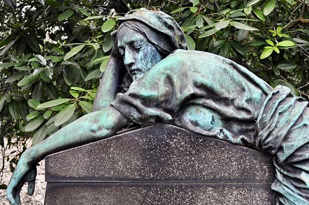 In sorrow stock photo