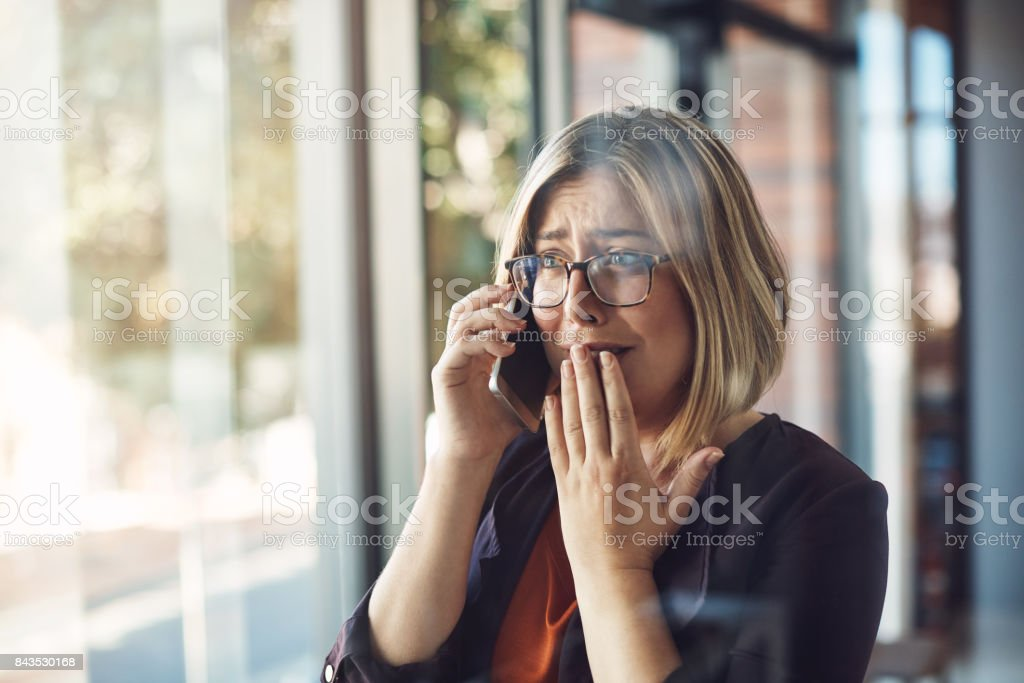 In that moment, life changed forever stock photo