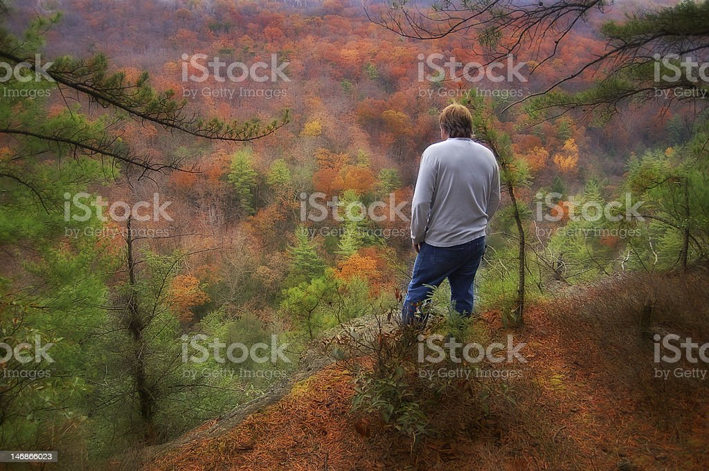 In the Beautiful Hills of West Virginia royalty-free stock photo