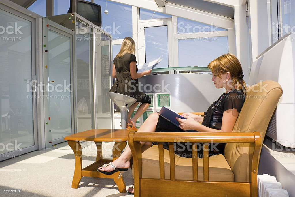 In the beauty shop. royalty-free stock photo