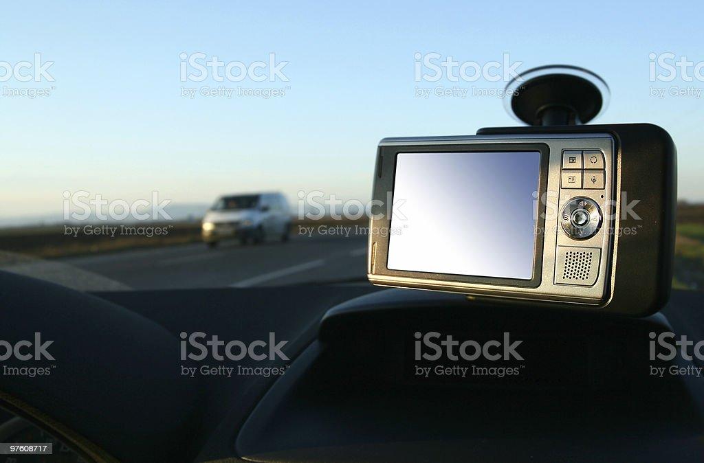 In the car royaltyfri bildbanksbilder