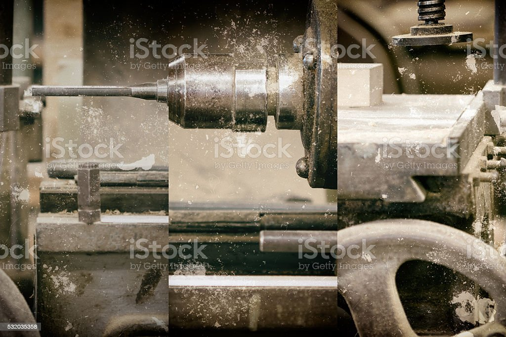 In the carpentry shop - do it yourself stock photo