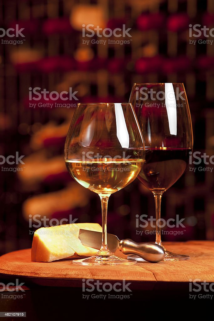 In the Cellar royalty-free stock photo